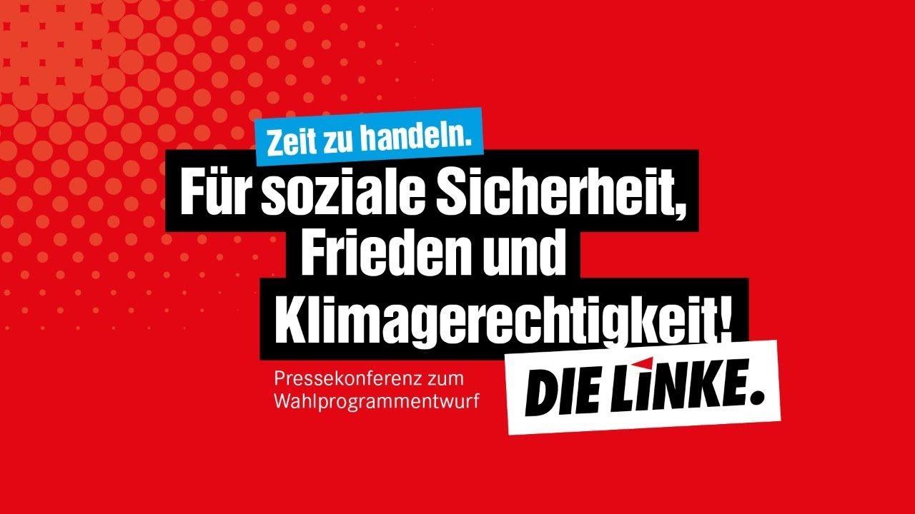 Die Linke Bundestagswahl 2021